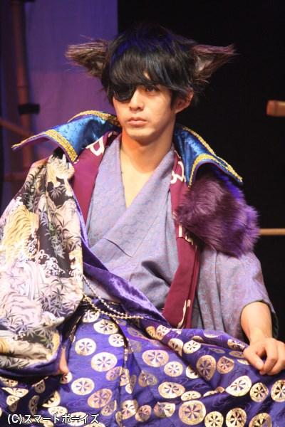 全公演に出演、伊達まシャムね役の末野卓磨さん