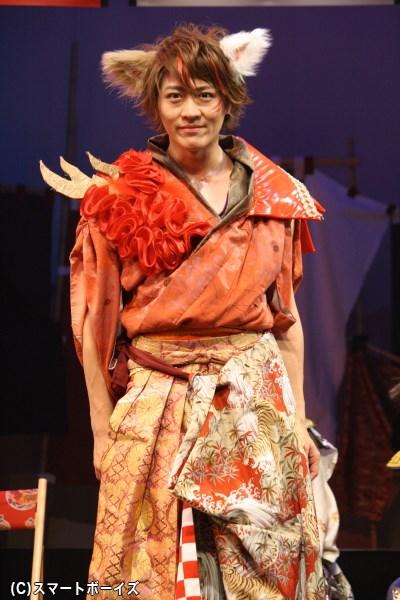 全公演に出演、さニャだ幸村役の服部翼さん