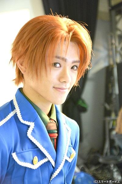 終了直後の長江さんをパチリ☆ 美少年でした~♪