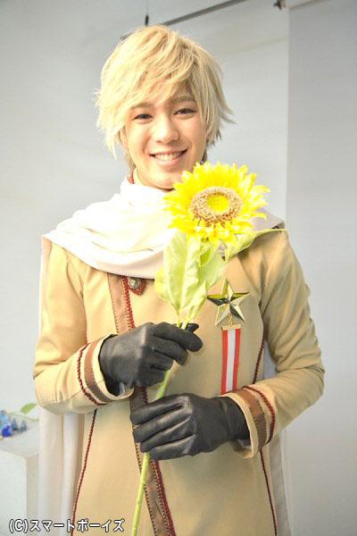 ステージ上でも、ロシアの微笑みが花咲きます♪