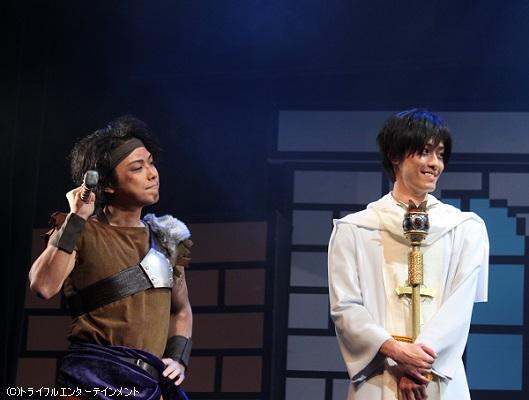 (左)増田裕生さん