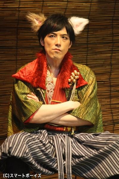 さニャだ信之役の吉田宗洋さん