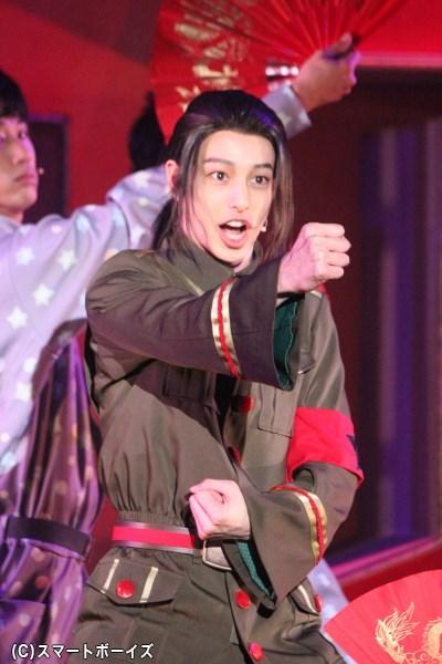 4000年の歴史を感じさせるムーブを披露してくれた中国役の杉江大志さん