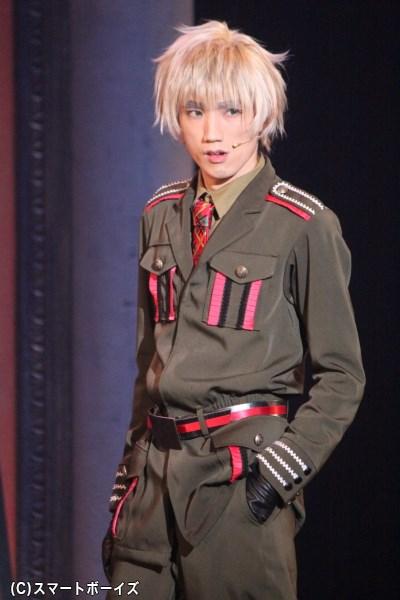 その眉毛でファンを驚喜させたイギリス役の廣瀬大介さん