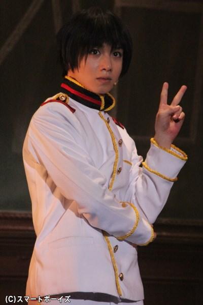 原作から抜け出たようなビジュアルを披露してくれた日本役の植田圭輔さん