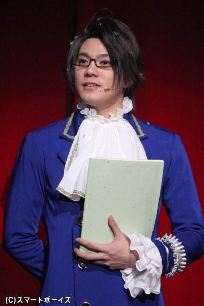 ヘタミュではストーリーを展開する重要な役を担ったオーストリア役の菊池卓也さん
