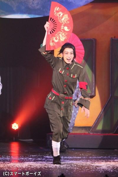 ヘタミュの世界での中国は、若さ爆発! 元気ハツラツ!
