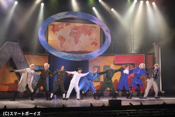 最後は「まるかいて地球」で世界平和!平和って大事!!