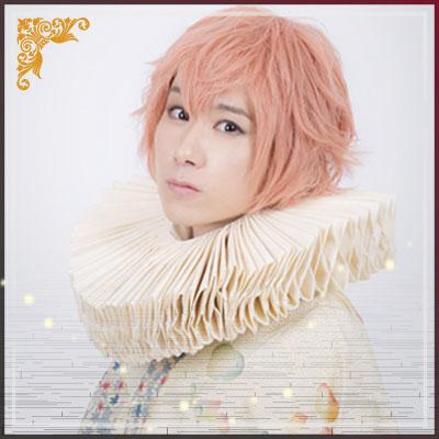 日本から来た華族の末裔の美少年・アリスガワ役の古畑恵介さん