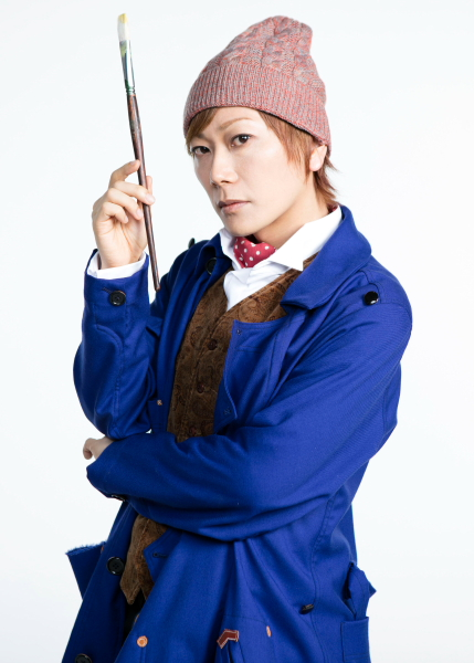 ポール・ゴーギャン役のKimeruさん