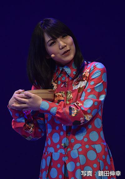 バーテンダーの妻役の田上真里奈さん