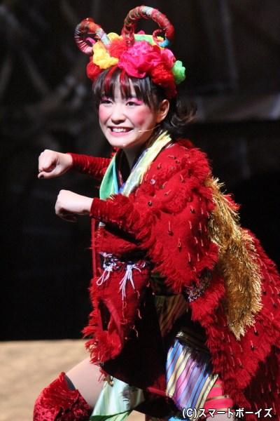 すみやかな歌声を響かせる天真爛漫な少女、大原櫻子さん