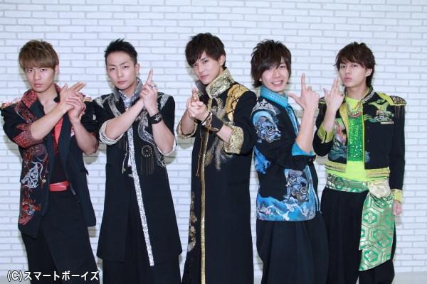 (左より) 辻本達規さん、田中俊介さん、水野勝さん、田村侑久さん、小林豊さん