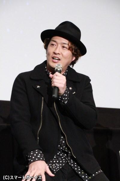 ゴ・ガメゴ・レ役の酒井一圭さん
