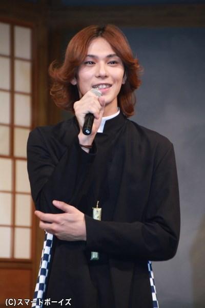 ヘンリー熊谷役の小谷嘉一さん