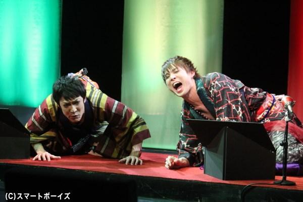 今回が2回目の出演となる加藤良輔さんと、初参加に緊張気味の西山丈也さん