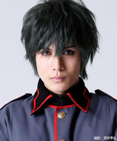 犲隊員・武田楽鳥役の蒼山真人さん