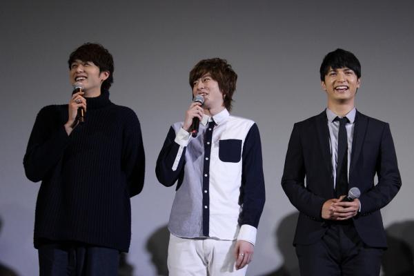 (左から)稲垣成弥さん、木村敦さん、中村優一さん