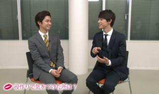吉沢亮さん&千葉雄大さんのインタビューがたっぷり25分も収録!