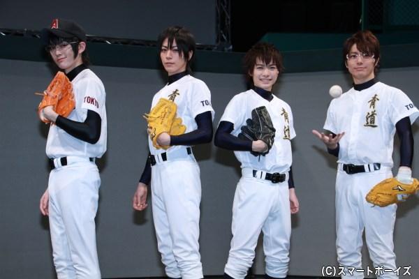 夢の甲子園出場へ、青道高校の戦いが始まる!