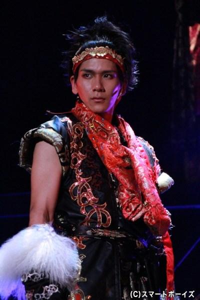 松田岳さんは真田幸村と武田信玄の二役を演じます!