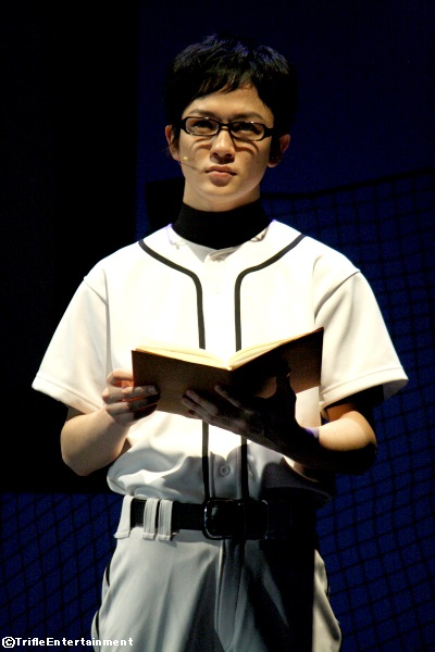 野球への思いを秘める、シニカルな球児を演じた小西成弥さん