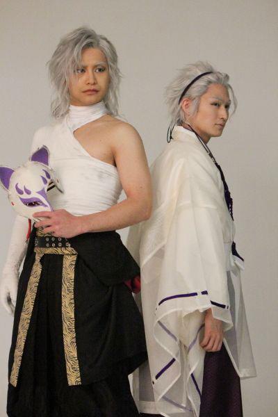 風魔小太郎(小澤亮太)と金城白子(松田凌さん)の絵になるツーショット。