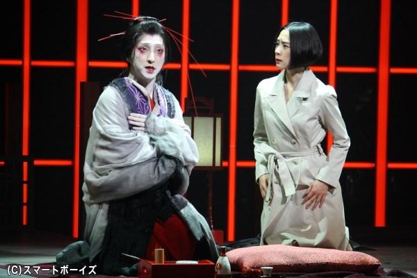 深津絵里さん(写真右)と中村七之助さん(左)が初共演の注目作が開幕!