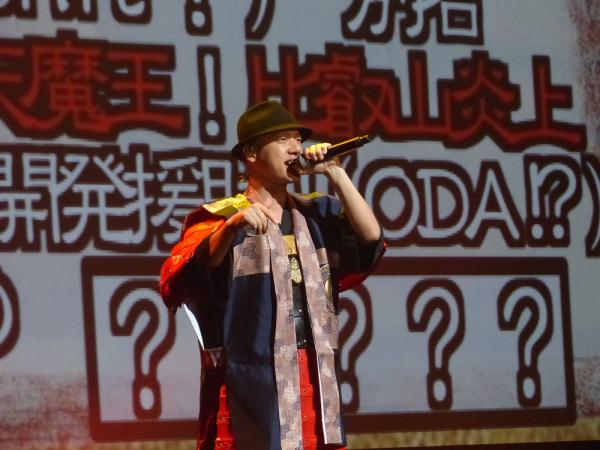 Co.慶応さんの「お勉強ラップ」では会場一体になって「WAR~♪」のコール&レスポンス