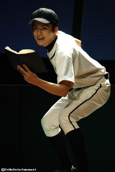 益岡の代走として試合に臨むことになる、須藤役を演じた平田雄也さん