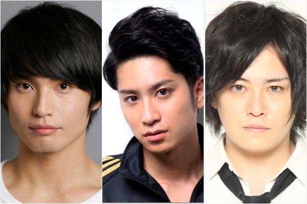 (左から)友常勇気さん、滝口幸広部長、宮下雄也副部長