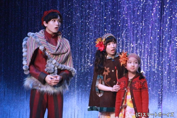 クリスは片山さん演じるコユキらと共に雪の宮殿へ