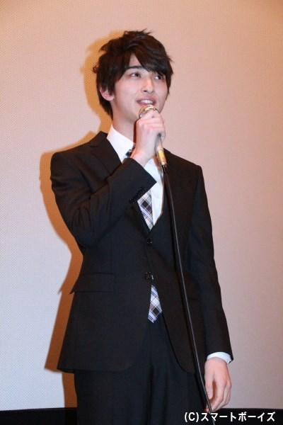 横浜さんは、意外にも面接の経験がないそうで、今作が人生最初の面接を経験