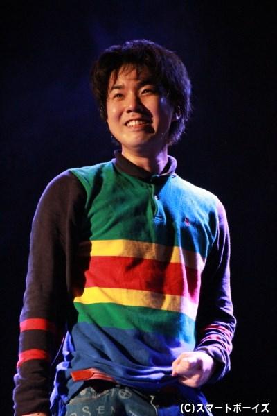サム役の桑野晃輔さん
