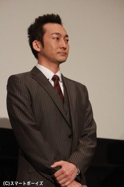 ライバル金融業者・塩田役の波岡一喜さん