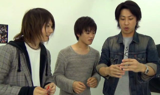 右から小笠原健さん、長江崚行さん、久下恭平さん