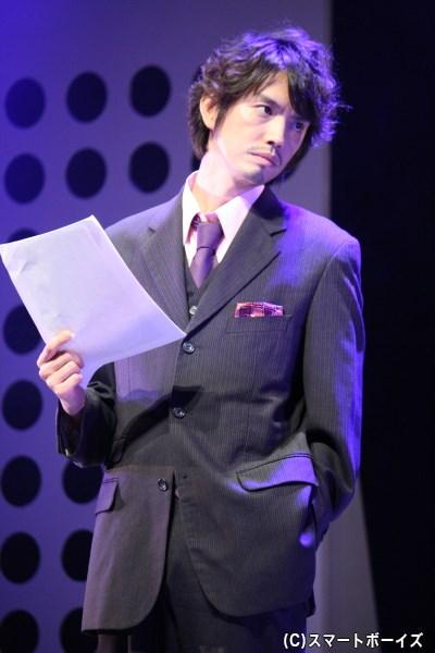 野久保直樹さん演じる、ラジオ番組プロデューサーの上司を演じる村上幸平さん