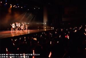 TEAM Live YAMABUKIでの第二部ライブコーナー