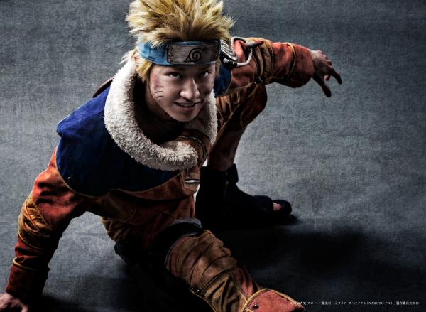 九尾の妖狐を身に宿す落ちこぼれ忍者・うずまきナルト役の松岡広大さん