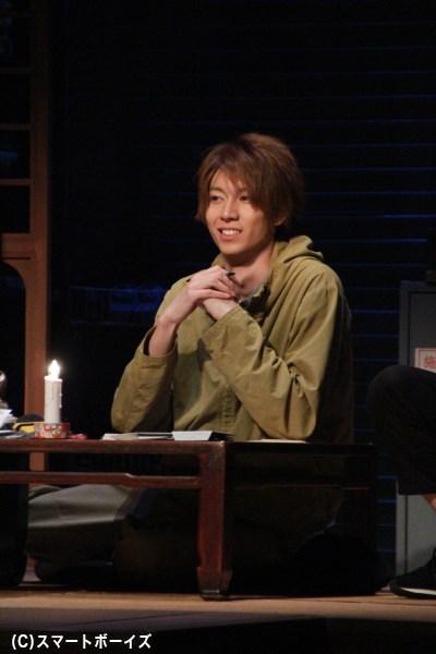 伊勢崎幸平役の鮎川太陽さん