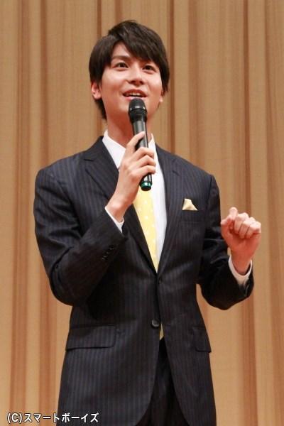 「帽子はないけど、キンちゃんでございますよ!」と挨拶した多和田さん