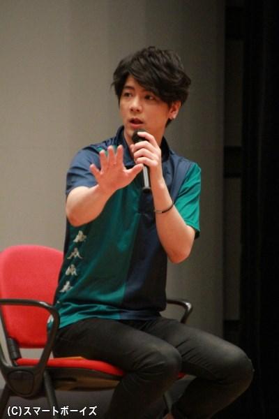 河野がかつて所属していた強豪チームの同僚・成田役の中村誠治郎さん
