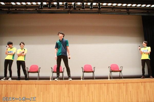罰ゲームでアントニオ猪木さんのモノマネを披露する誠治郎さんに、3人大爆笑!