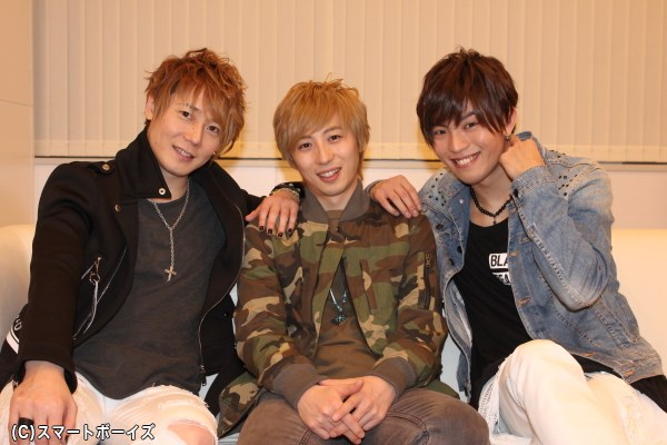 (写真左より)植木豪さん、千葉涼平さん、橋本汰斗さん