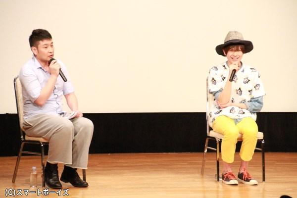 MC鈴木直樹さんの軽妙なトークで盛り上がりました