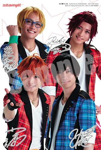 アニメイト特典は、小澤さん&山本さん&松村さん&谷水さんの複製サイン入りフォトカード