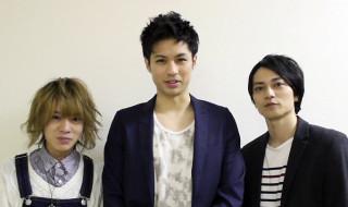 (左から)荒木健太朗さん、佐伯大地さん、大平峻也さん