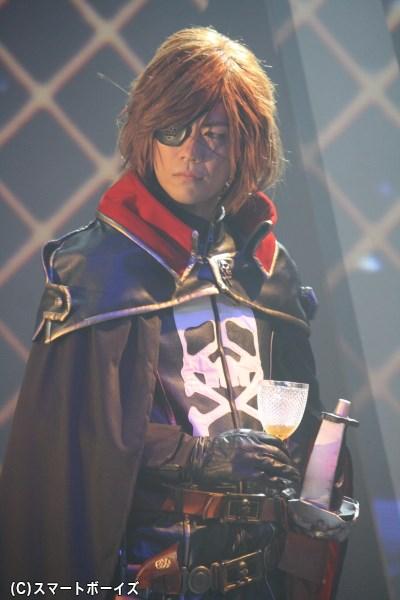 松本零士作品きっとのヒーロー、宇宙海賊・ハーロック役に挑む林野健志さん