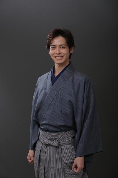 石田三成/徳川家康を演じる猪塚健太さん
