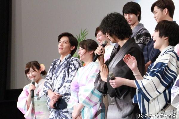 七夕願い発表を斎藤さんから無茶ぶりされ、苦笑いの伊藤さん、思わず斎藤さんに「悪魔だな……」